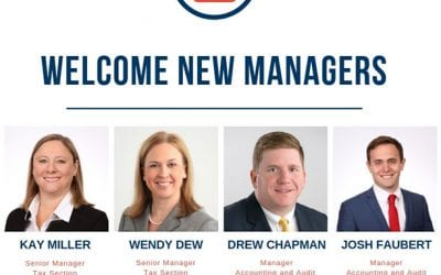 Ericksen Krentel Introduces New Managers