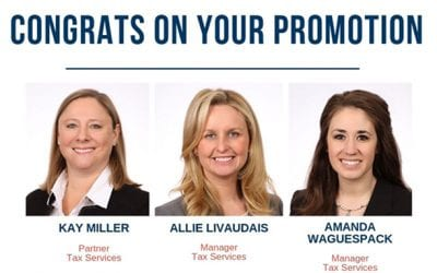 Kay Miller Elected Partner; 2 Promoted to Manager